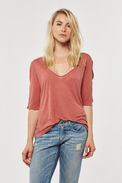 Cold Shoulder Tee - Taylor