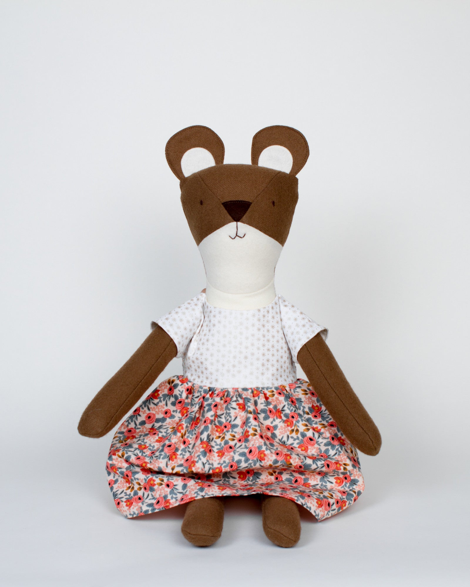 Eleanor the Bear of Walnut Animal Society and the book Henry's Bright Idea by Lauren Bradshaw
