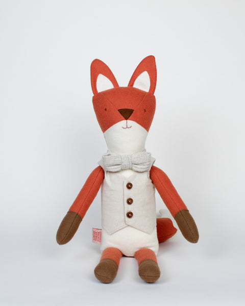 Henry the Fox of Walnut Animal Society and Henry's Bright Idea
