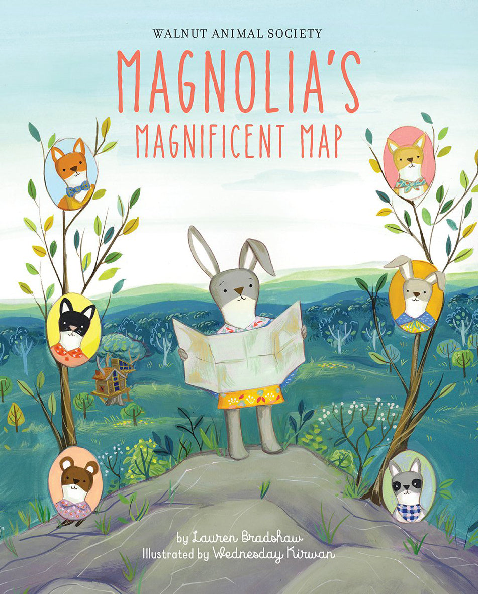 Magnolia's Magnificent Map (signed)