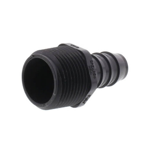 "1"" MIPT x 3/4"" INSERT PVC REDUCING MALE ADAPTER"