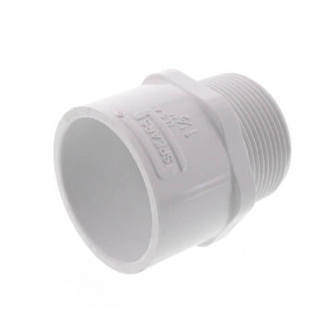 "1 1/2"" MIPT x SOCKET SCH 40 MALE ADAPTER"