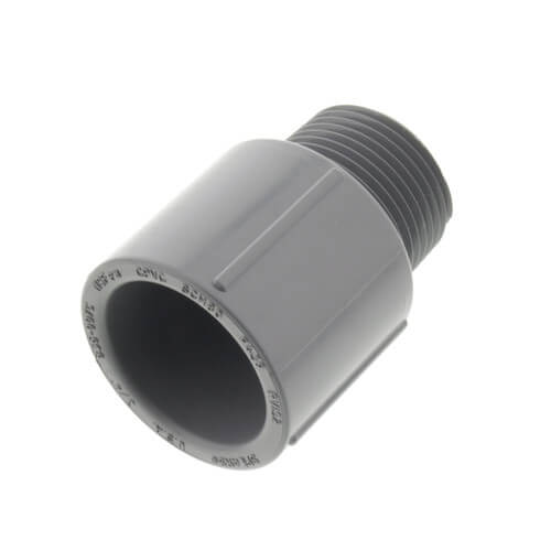 "3/4"" CPVC MIPT x SOCKET SCH 80 MALE ADAPTER"