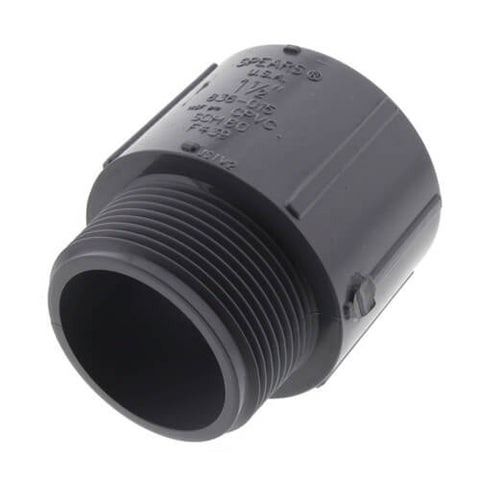 "1 1/2"" CPVC MIPT x SOCKET SCH 80 MALE ADAPTER"