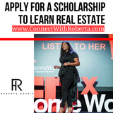 Scholarship Application for Strategic Real Estate Investing