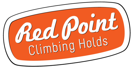 Red Point Climbing Holds