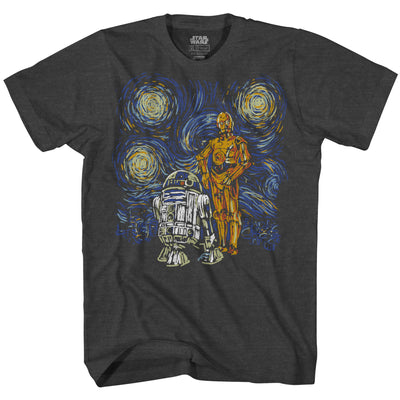 Droids Starry Night
