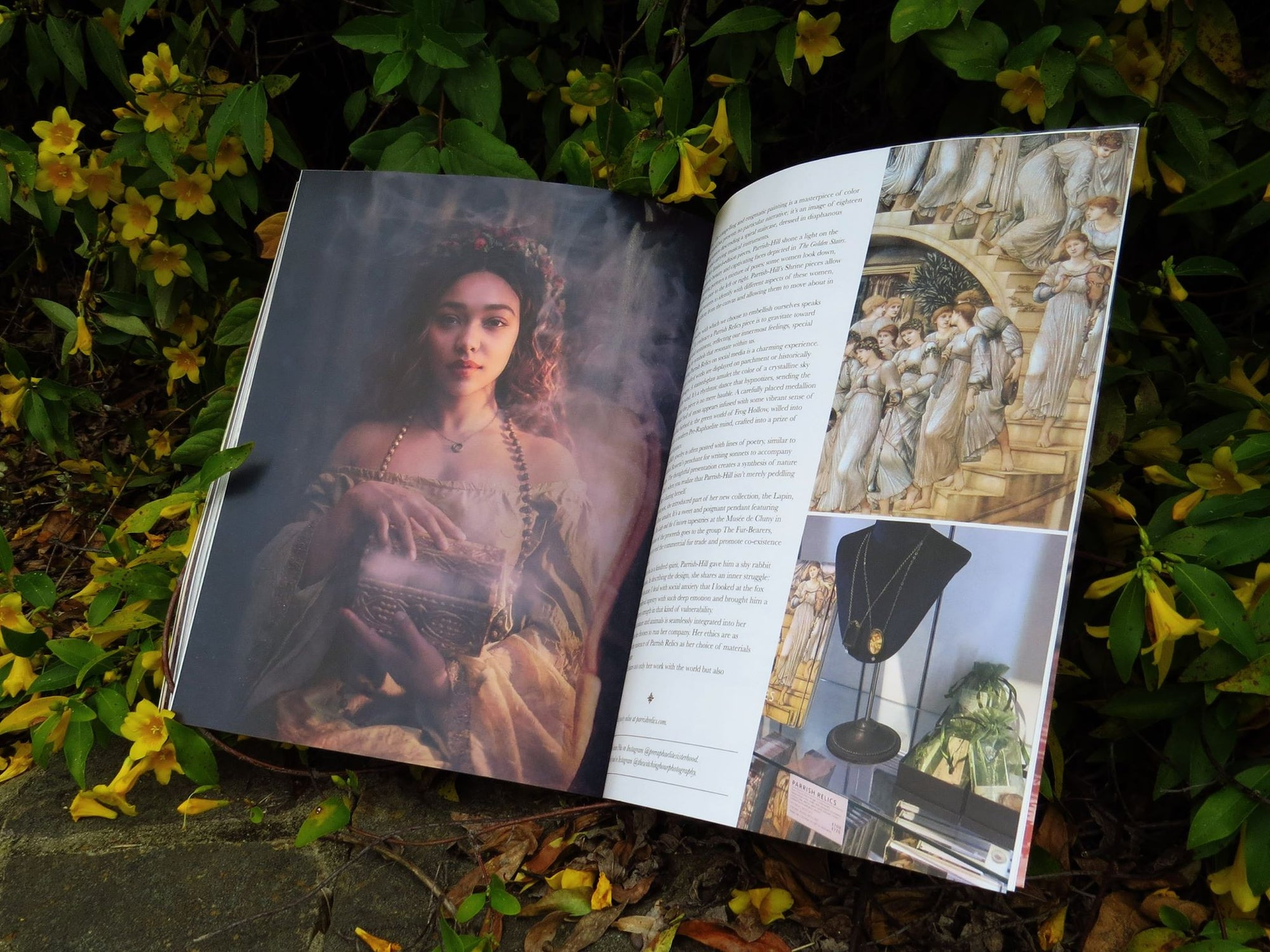 The Pre Raphaelite Issue of Enchanted Living is here!