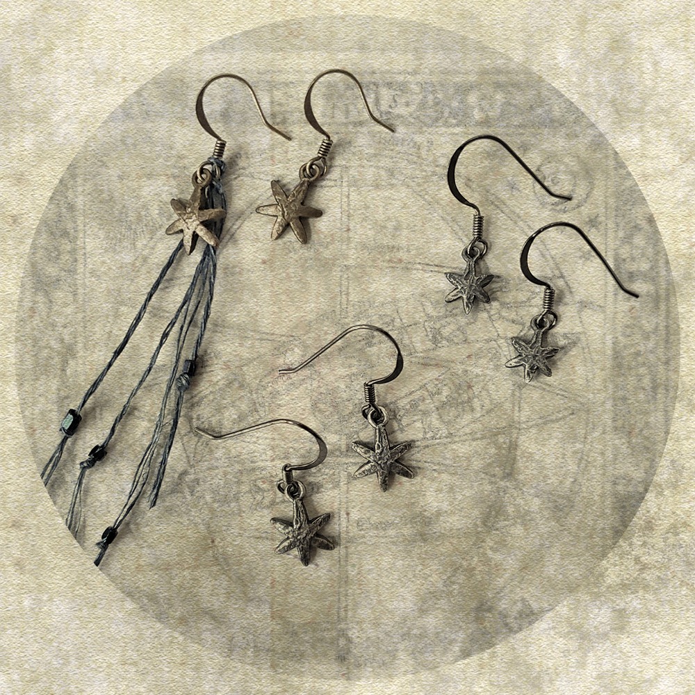 the stèlla earring collection.