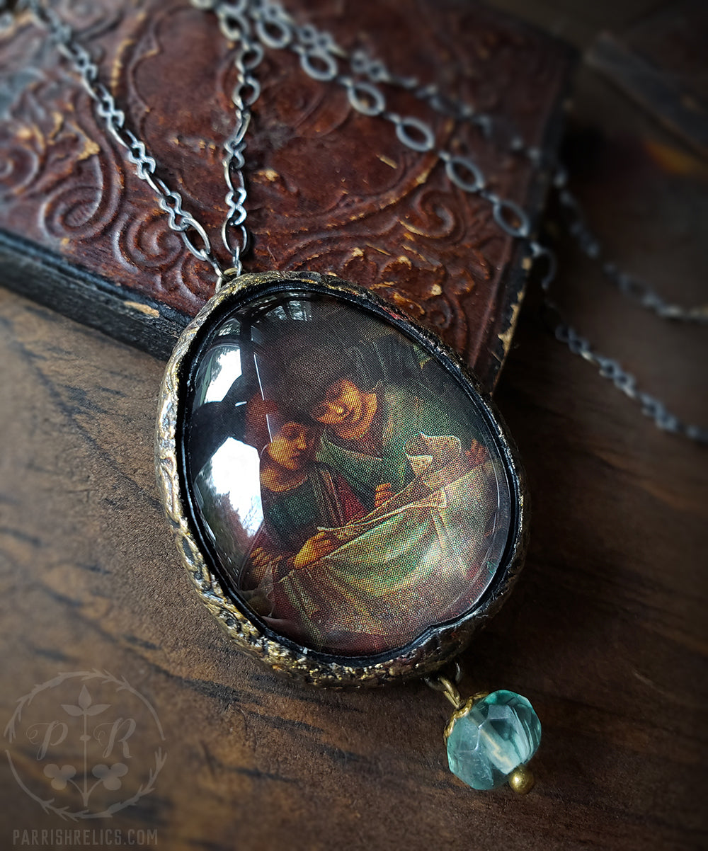Readers of Music ~ Pictorial Shrine Amulet