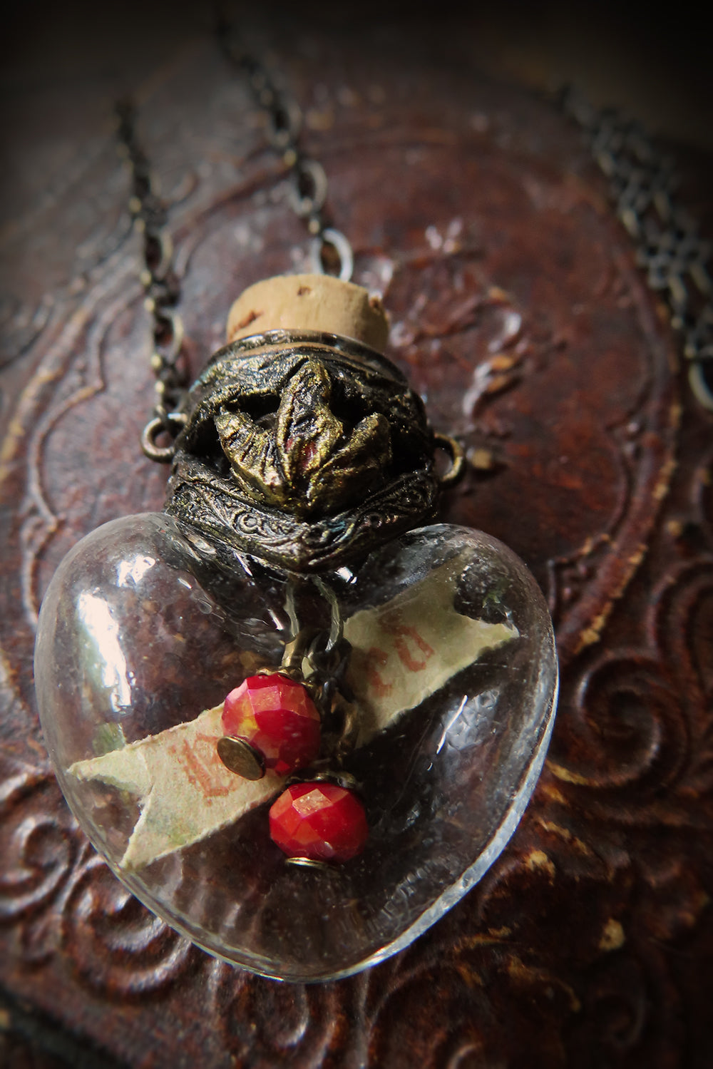 Beloved Sacred Heart Vessel Amulet