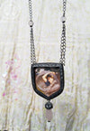 Boreas ~ John William Waterhouse Pictorial Shrine Amulet