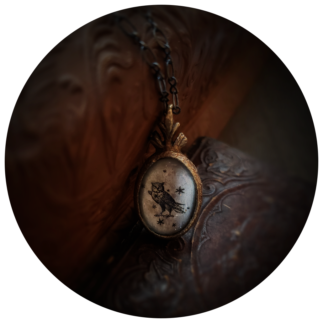 the owl amulet.