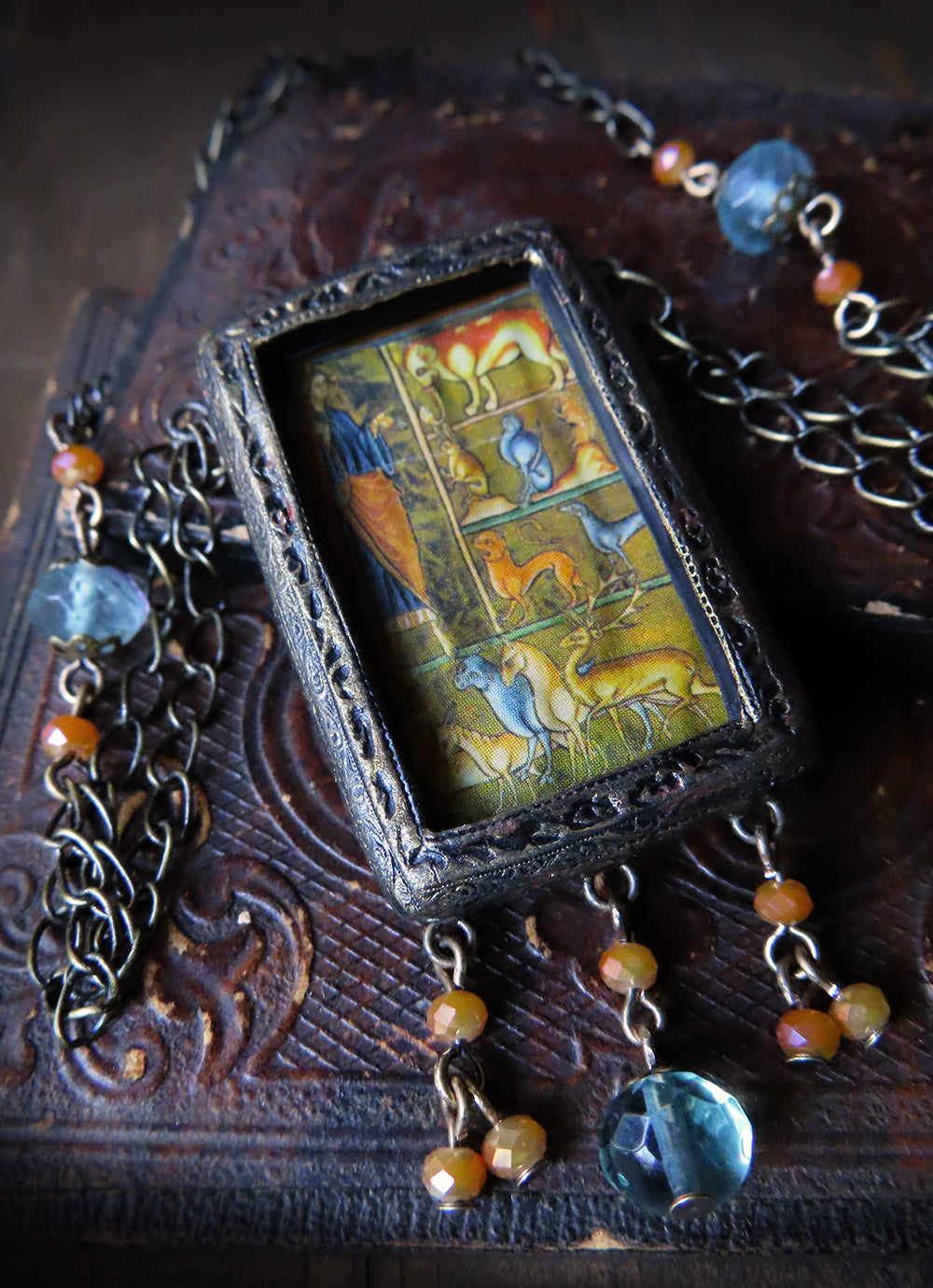 Creation of the Beasts ~ Pictorial Shrine Amulet