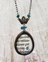 Crowned Incunabula Pictorial Shrine Amulet