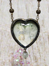 Fairy Queen ~ John Anster Fitzgerald Pictorial Shrine Heart Amulet