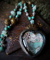 Florentine Lion ~ Sacred Heart Pictorial Amulet