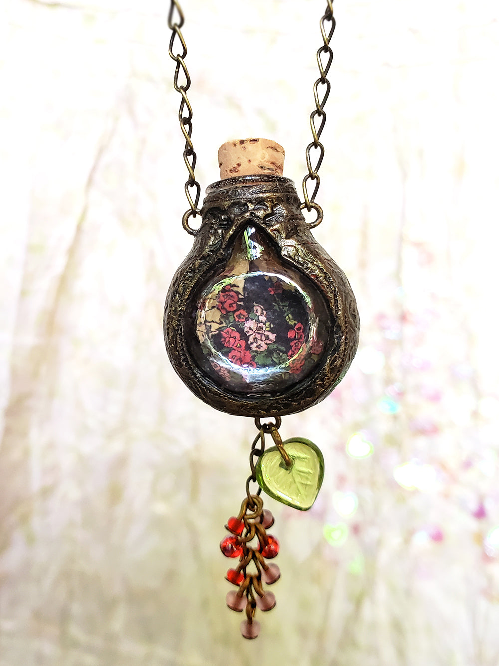 Hollyhock Cottage Gothic Arch Vessel Amulet