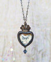 hope ~ Sacred Heart Pictorial Shrine Amulet