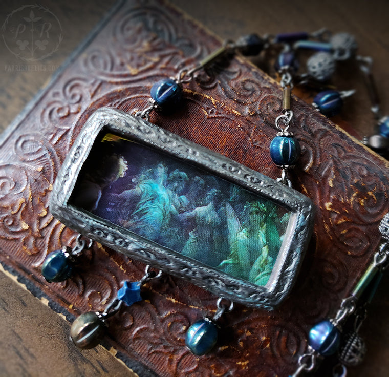 Moonlight Dance Pictorial Shrine Amulet