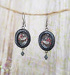 William Morris ~ Strawberry Thief Earrings