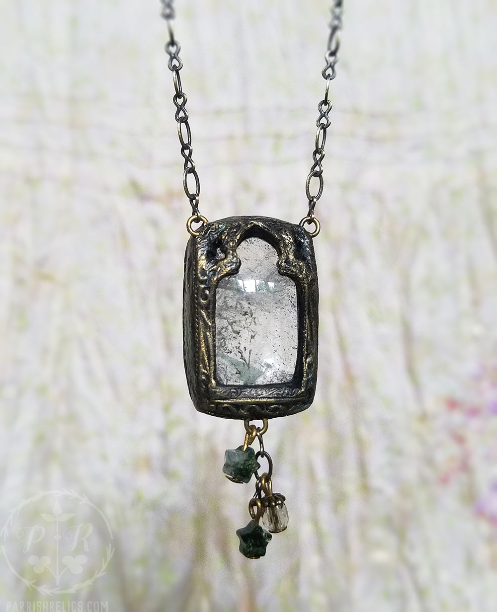 Natura Cathedrali ~ Quartz Crystal Amulet
