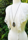 Priestess of Delphi ~ Quartz Crystal Amulet Necklace
