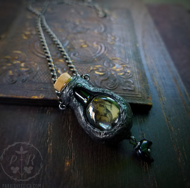 Siren of the Crescent ~ Vessel Amulet