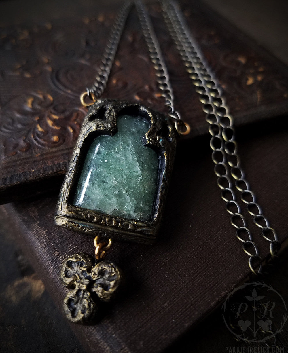 Stones of Venice ~ Gothic Arch Amulet