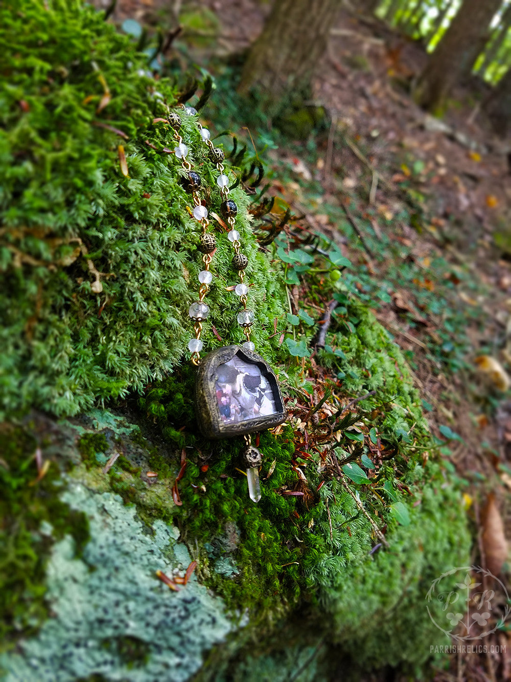 The Shrine ~ Waterhouse Quartz Crystal Amulet Necklace
