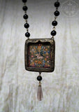 Unicorn Tapestry Pictorial Shrine Amulet