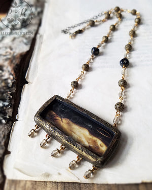 The Young Martyr ~ Pictorial Shrine Amulet