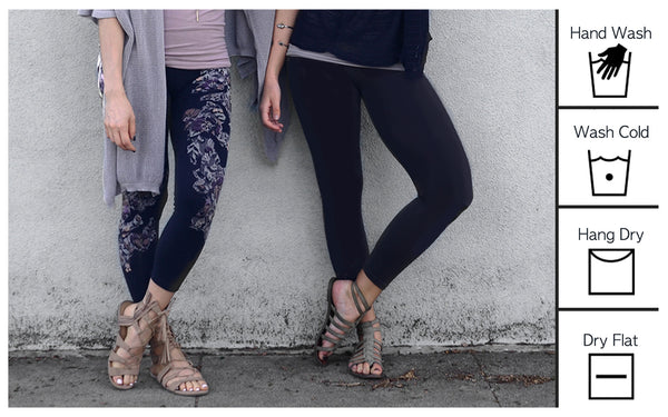 How to Care for Your Leggings