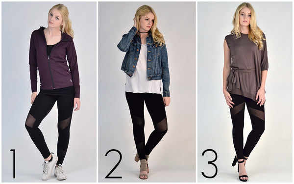 One Legging Three Looks