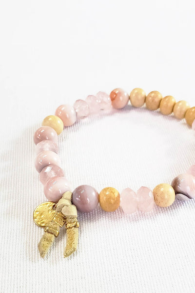 Chan Luu Natural Rose Bracelet