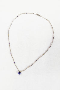 Chan Luu Lapis Beaded Necklace