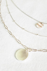 Love Layers Necklace - Silver