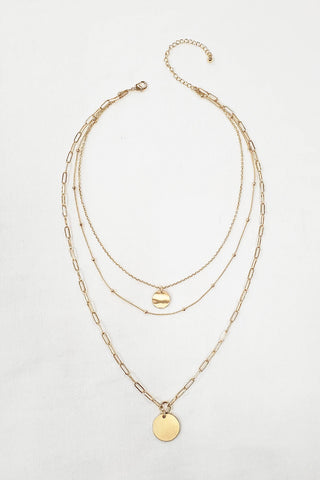 Love Layers Necklace - Gold
