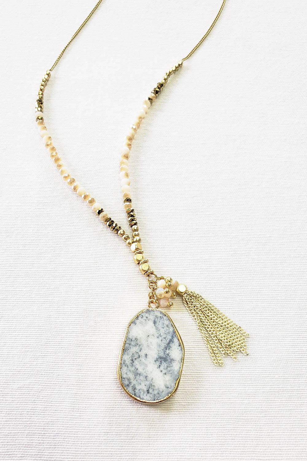 Nomad Marble Necklace
