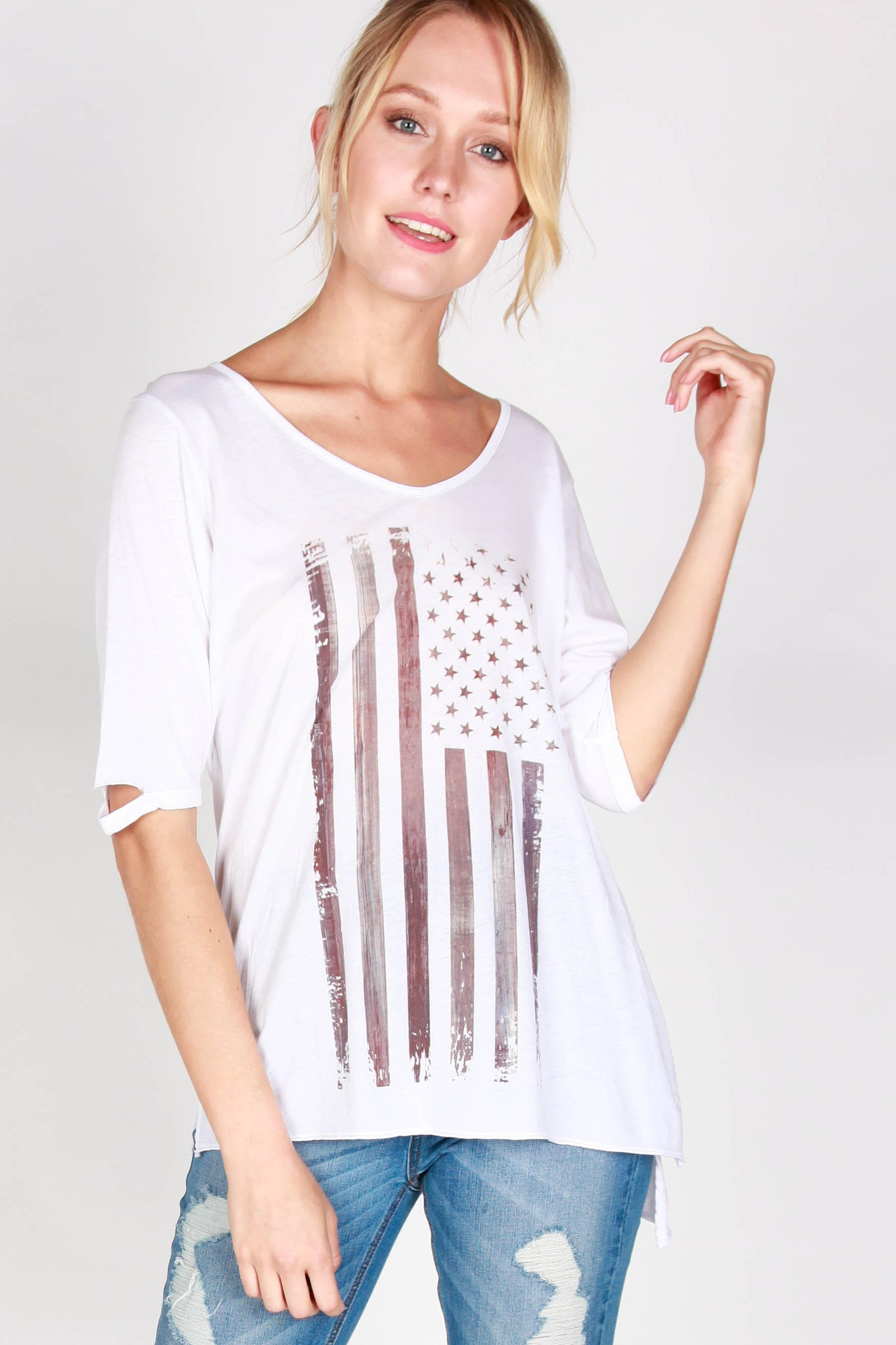 Americana Pima Cotton Tee