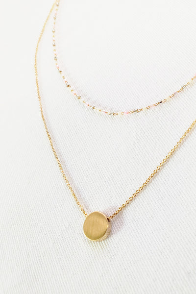 Hailey Pendant Necklace