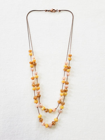 Grape Bead Necklace