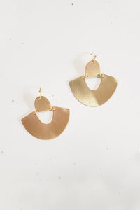 Sienna Statement Earrings - Gold