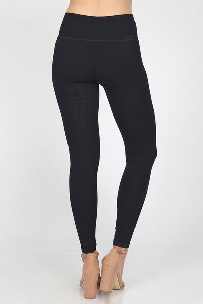High Waist Pintuck Legging