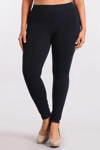 M. Rena Ink Plus Size Classic Full Length Legging