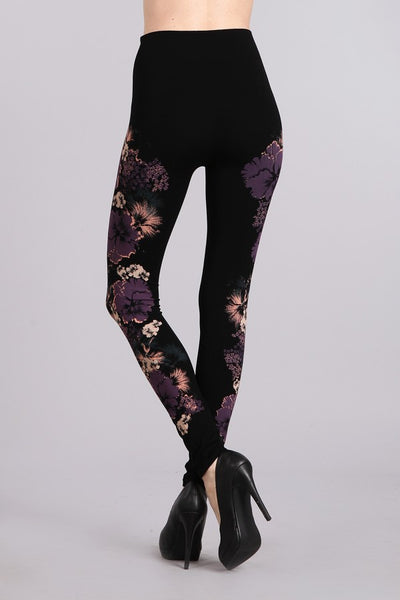 Hawaiian Flowers Legging