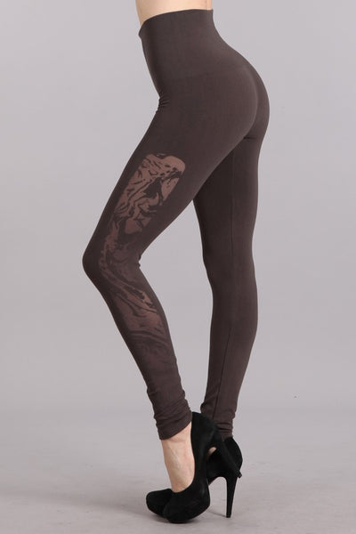 Marble Burnout Leggings
