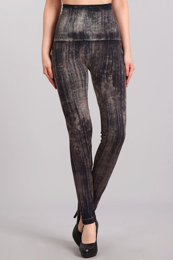 Moroccan Damask Brushed Leggings