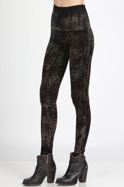 Distressed Camouflage Leggings