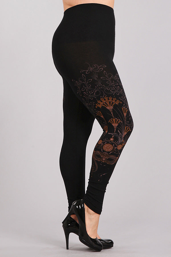 Plus Size - Masquerade Leggings